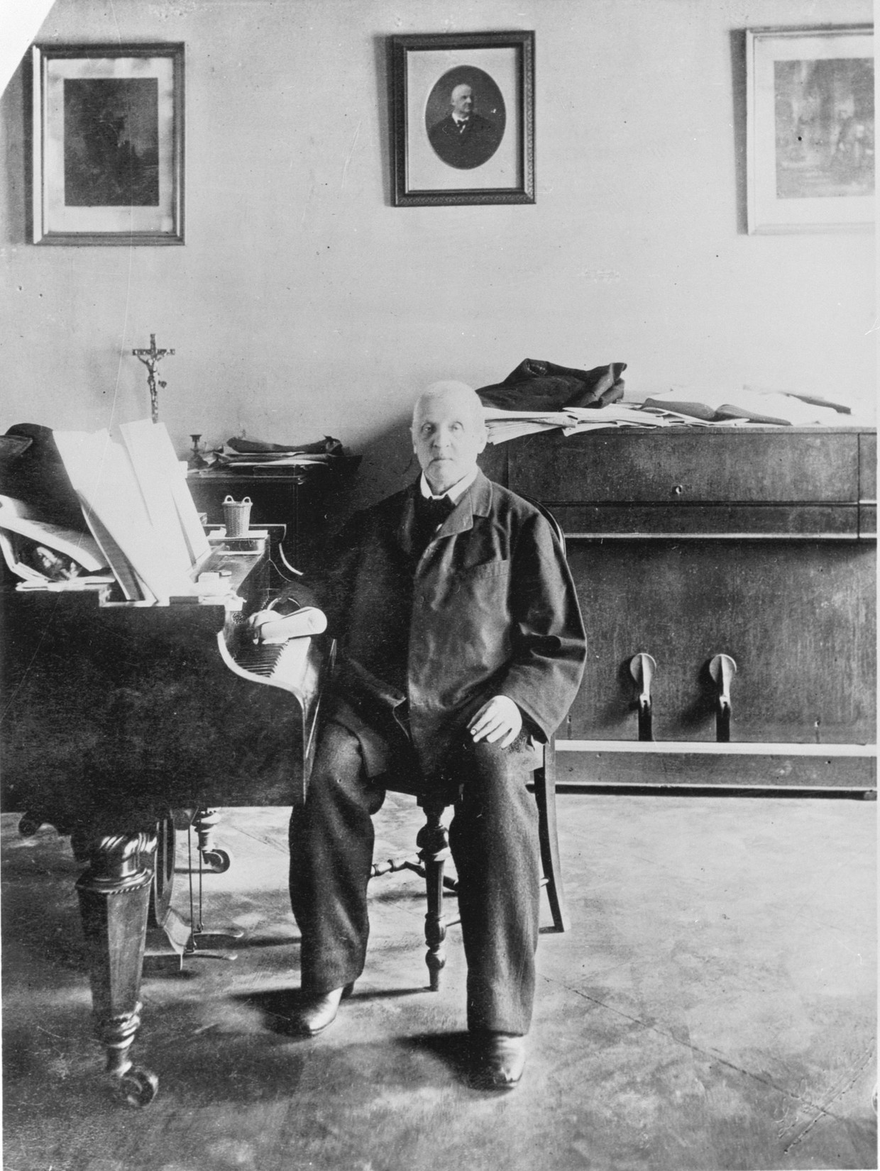 Componist Anton Bruckner