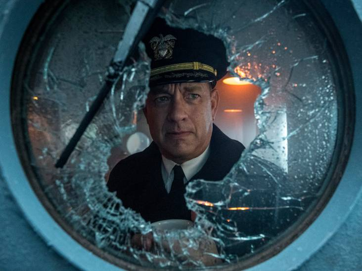 Tom Hanks doet zichzelf tekort met vlakke oorlogsfilm vol herhaling