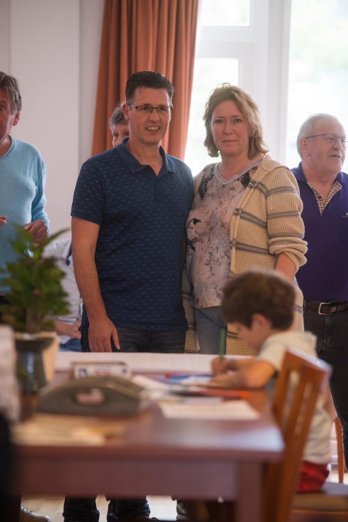 Karin en Eric Rentmeester in het Inloophuis, waar ze culturen samenbrengen.