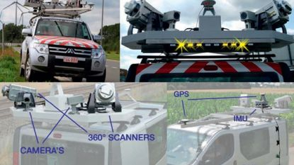 Scanwagen giet Brusselse wegen in 3D-kaart