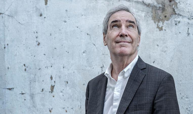 Michael Ignatieff, op bezoek in Amsterdam Beeld Patrick Post