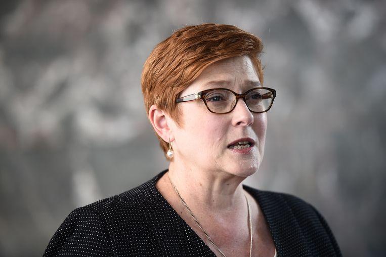 Buitenlandminister Marise Payne van Australië.
