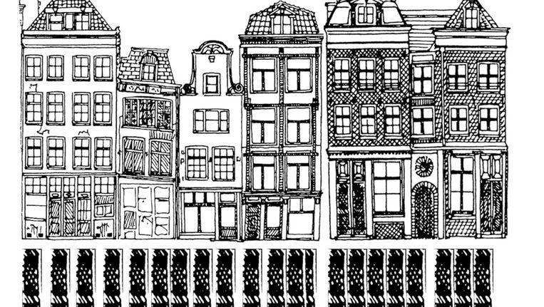 Amsterdam gebouwd op palen Beeld Stadsherstel