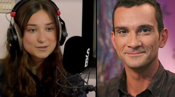 Helena en Christophe Lambrecht. De StuBru-presentator overleed vorig weekend aan hartfalen.