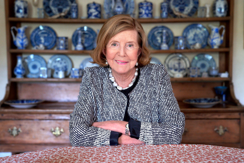 Lady Anne Glenconner  Beeld Hal Shinnie