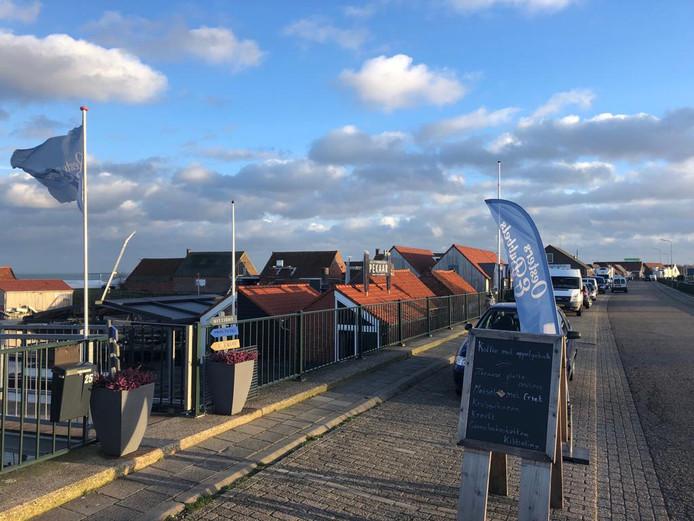De Havendijk langs de oesterputten in Yerseke is volgens wethouder Kees Verburg de beste plek voor het VVV.