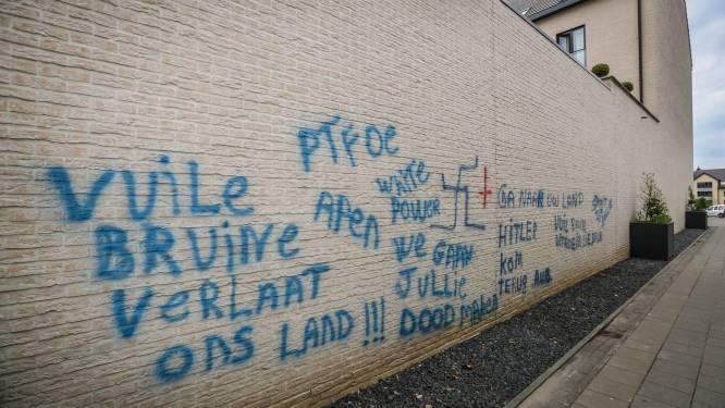 Verdachten van racistische graffiti op gevels in Tongeren, Lanaken en Bilzen in februari voor de strafrechter