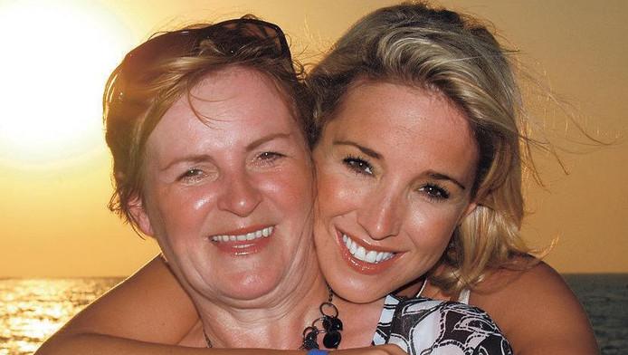 Kathleen en haar moeder