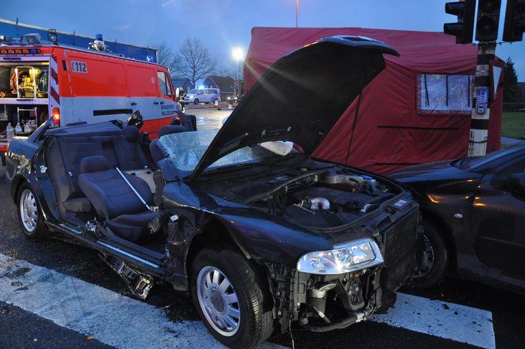 De vrachtwagenchauffeur reed op 8 december 2015 een bejaard koppel aan.