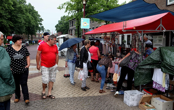 Braderie in Wouw.