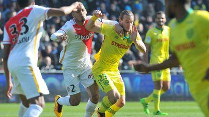 Gillet en Nantes spelen thuis 0-0 gelijk tegen Monaco