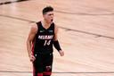 Tyler Herro was goed voor 37 punten namens Miami Heat.
