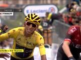 Nibali wint ingekorte 20e etappe, Bernal houdt geel