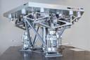 De door TNO ontwikkelde steun voor de hoofdspiegel van de Extremely Large Telescope in Chili