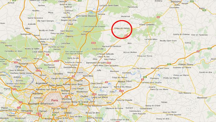 De zoektocht naar de twee broers concentreert zich momenteel op de omgeving van Crépy-en-Valois. Het gaat om een huis in Crépy