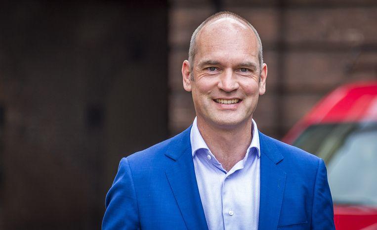 CU-leider Gert-Jan Segers wil dat gemeenten meer eisen kunnen stellen aan particuliere woningbeleggers. Beeld ANP/Lex van Lieshout