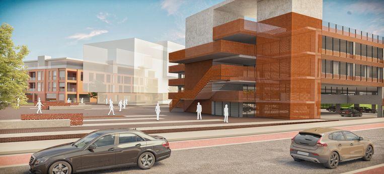 Extra parkeerplaatsen aan het station zijn nodig om de wijk Bevegem te ontlasten.