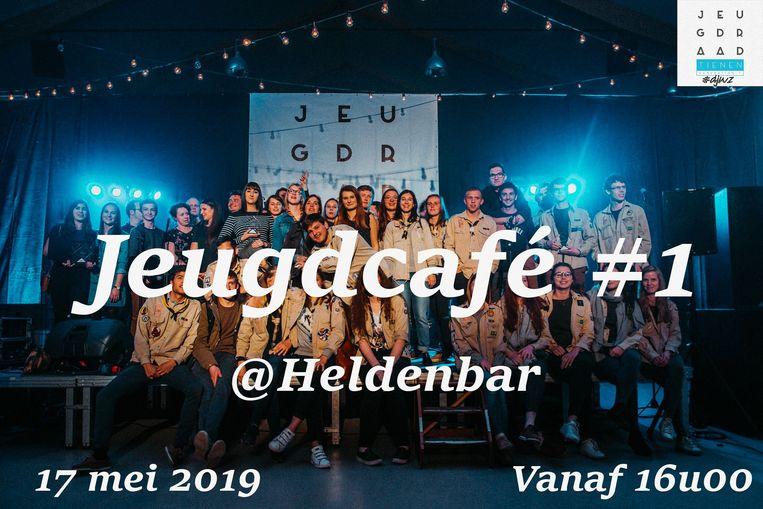 Het eerste Jeugdcafé vindt morgen plaats in Heldenland.