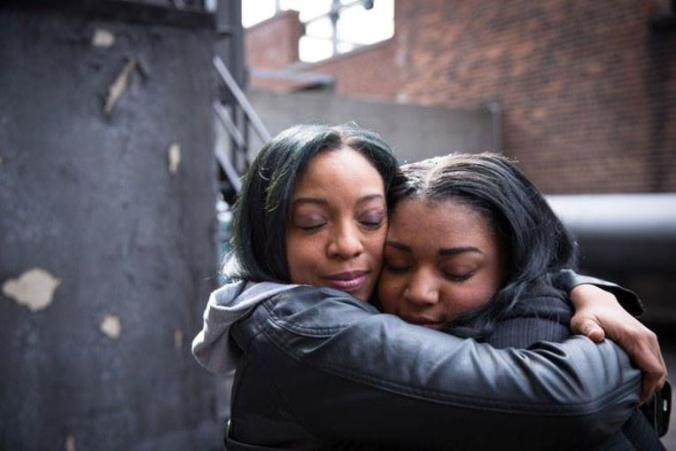Moeder en dochter opnieuw verenigd.