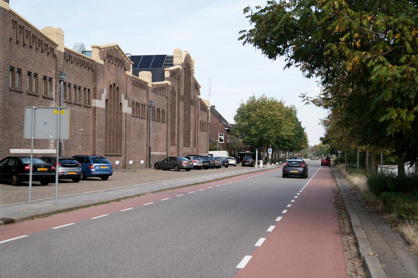 Den Bosch 12-10-2018  Het doodlopende deel van de Parallelweg wordt opnieuw ingericht.