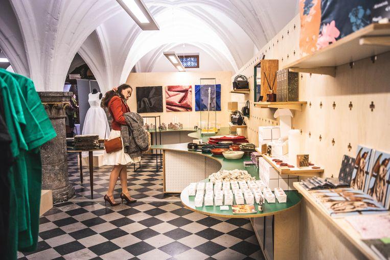 De Van Eyck-shop onder het Belfort.