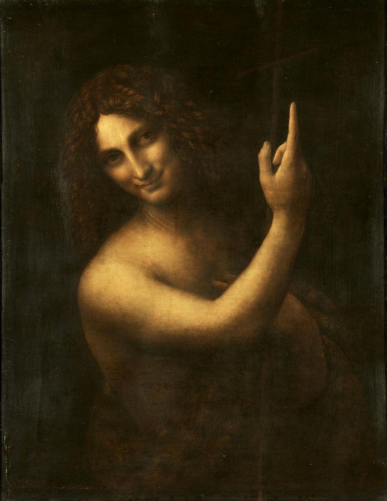 Johannes De Doper Beeld Leonardo Da Vinci