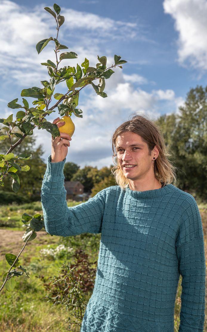Otto Veerman wil in Zwolle een voedselbos beginnen.
