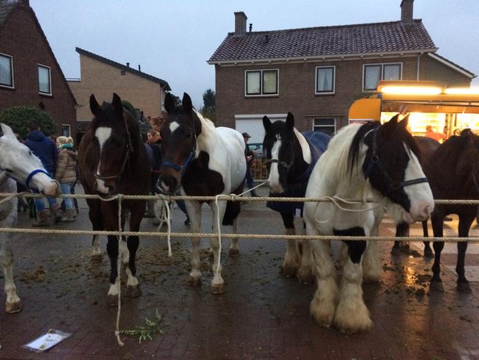 De Paardenmarkt is in de nacht van zondag op maandag om 00.00 uur gestart.