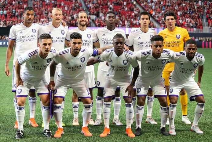 De teamfoto van Orlando City.