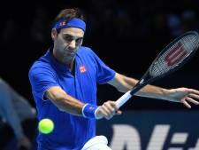 Federer bij ATP Finals in twee sets te sterk voor Thiem