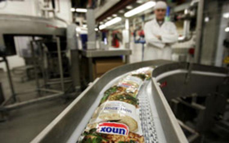 Productielijn in de Unilever fabriek in Oss. (ANP) Beeld