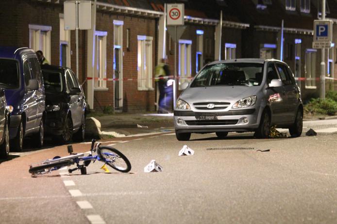 Bij een aanrijding in oktober 2016 op de Langevieleweg raakten een vader en zoon zwaar gewond.