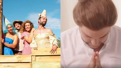 SHOWBITS. Sieg De Doncker kiest voor opvallende outfit en Jeroen Meus is bijna onherkenbaar in tv-spot