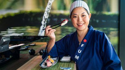 """Sushi Lounge ontvangt als enige Limburgse keuken exclusief certificaat voor excellente Japanse gerechten: """"Onze kokkin creëert ware delicatessen"""""""