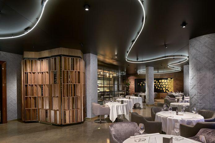 Het interieur van het Rotterdamse tweesterrenrestaurant Fred heeft de Special Mention Award gewonnen.