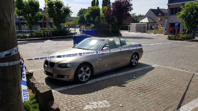 De geviseerde BMW cabrio.