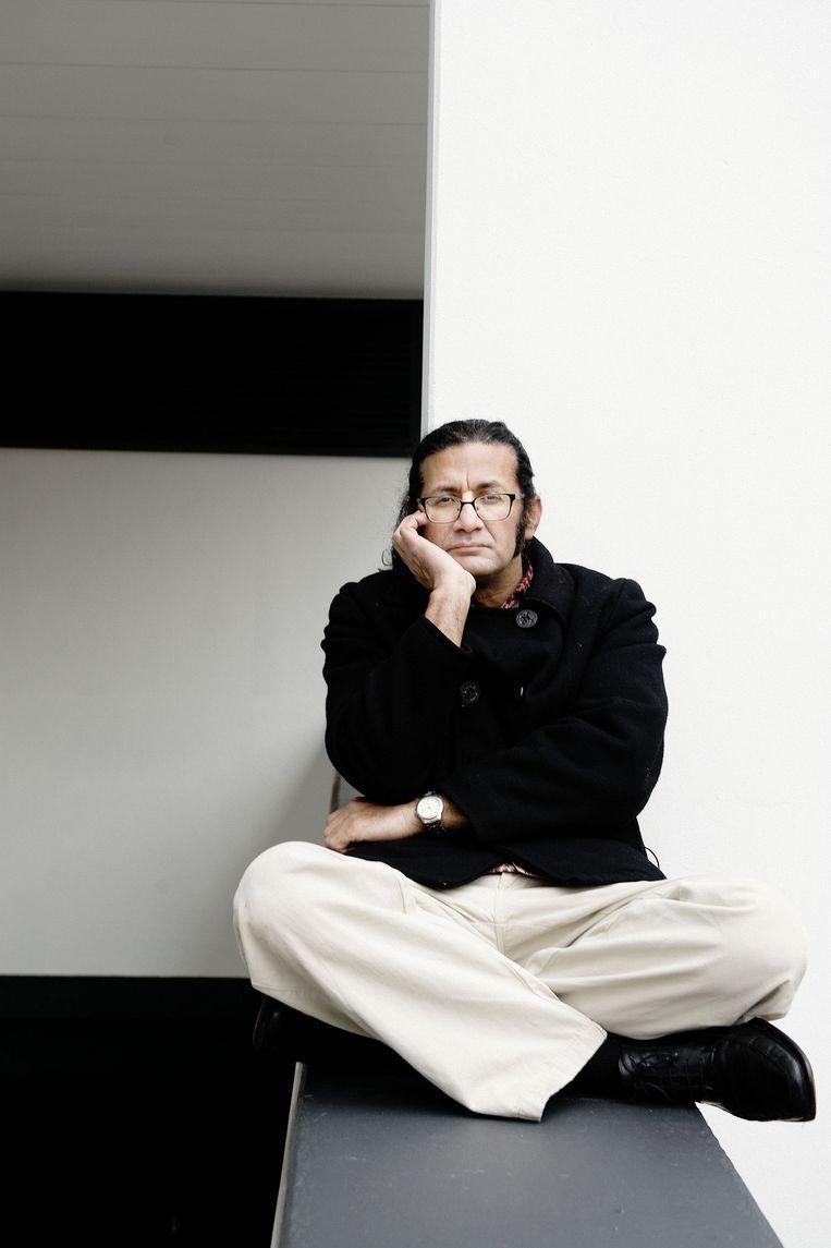 Schrijver en dichter Rodaan Al Galidi. Beeld Reyer Boxem