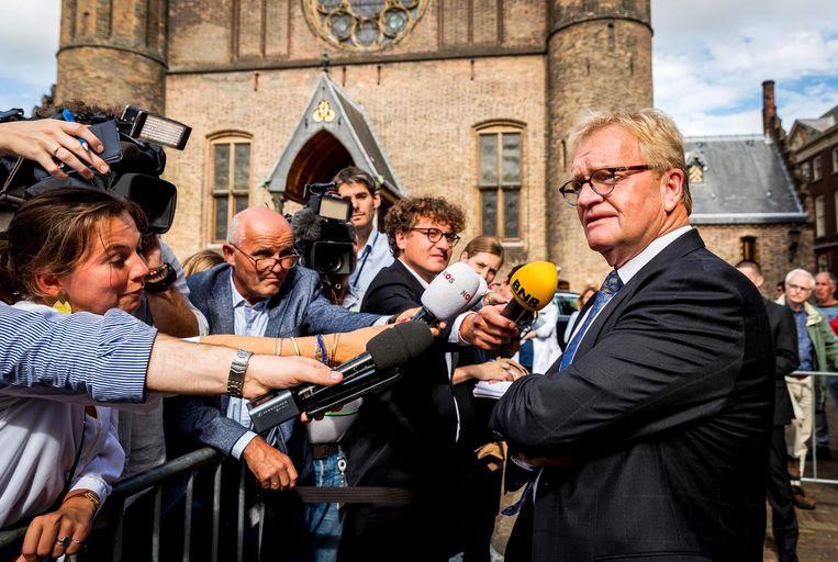Werkgeversvoorzitter Hans de Boer Beeld ANP