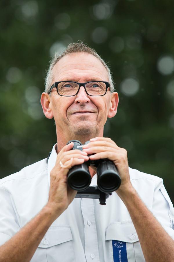 Boswachter Ted Sluijter