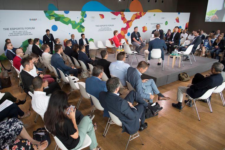 Het eSports Forum in Lausanne op 21 juli