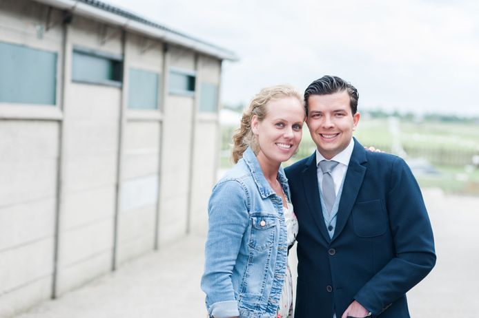 Chantal en Nikolai uit Married at First Sight. Nog altijd gelukkig samen.