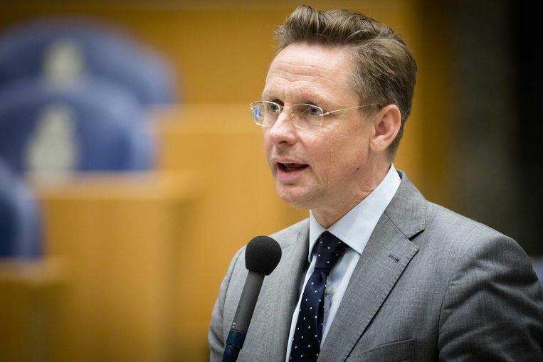 Han ten Broeke: nooit te beroerd om de zaaltjes op te zoeken. Beeld anp