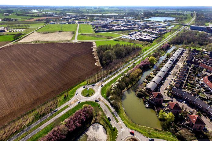 De bomen worden langs de N314 tussen Warnsveld en Zutphen geplaatst.