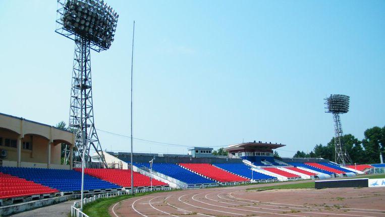 Het Lenin Stadion in 2012. Beeld Wikimedia Commons