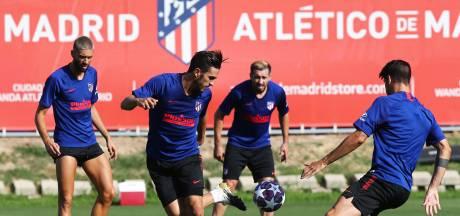 Twee positieve tests bij Atlético Madrid in aanloop naar kwartfinale tegen RB Leipzig