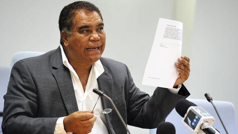 Politicus Ramonsito Booi van Bonaire. Beeld anp