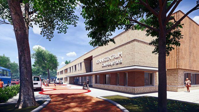 Het kenniscentrum in Oud-Beijerland wordt modern.