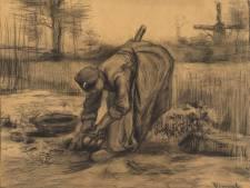 Het sepiakleurige Brabant van Van Gogh