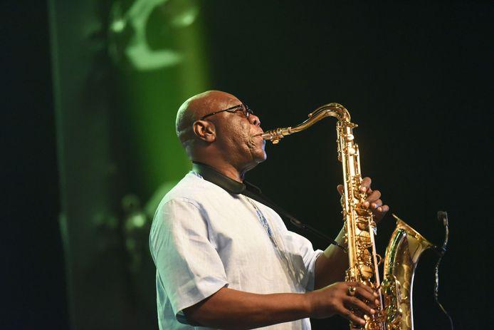 Emmanuel N'Djoke Dibango en juin 2018.