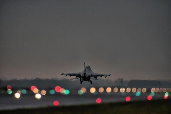 Er wordt tot uiterlijk 23.00 uur gevlogen.